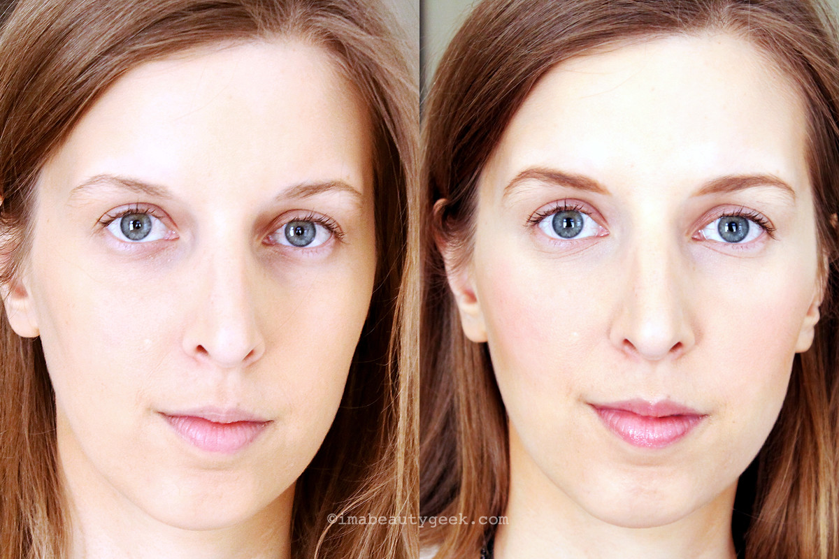 Estee Lauder 3 Minute Beauty Techniques: Gillian before and after (thanks lovely!)