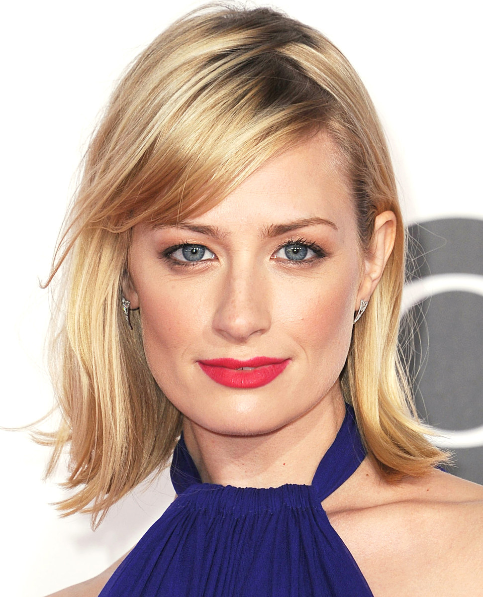 Beth Behrs makeup_no false lashes_fresh