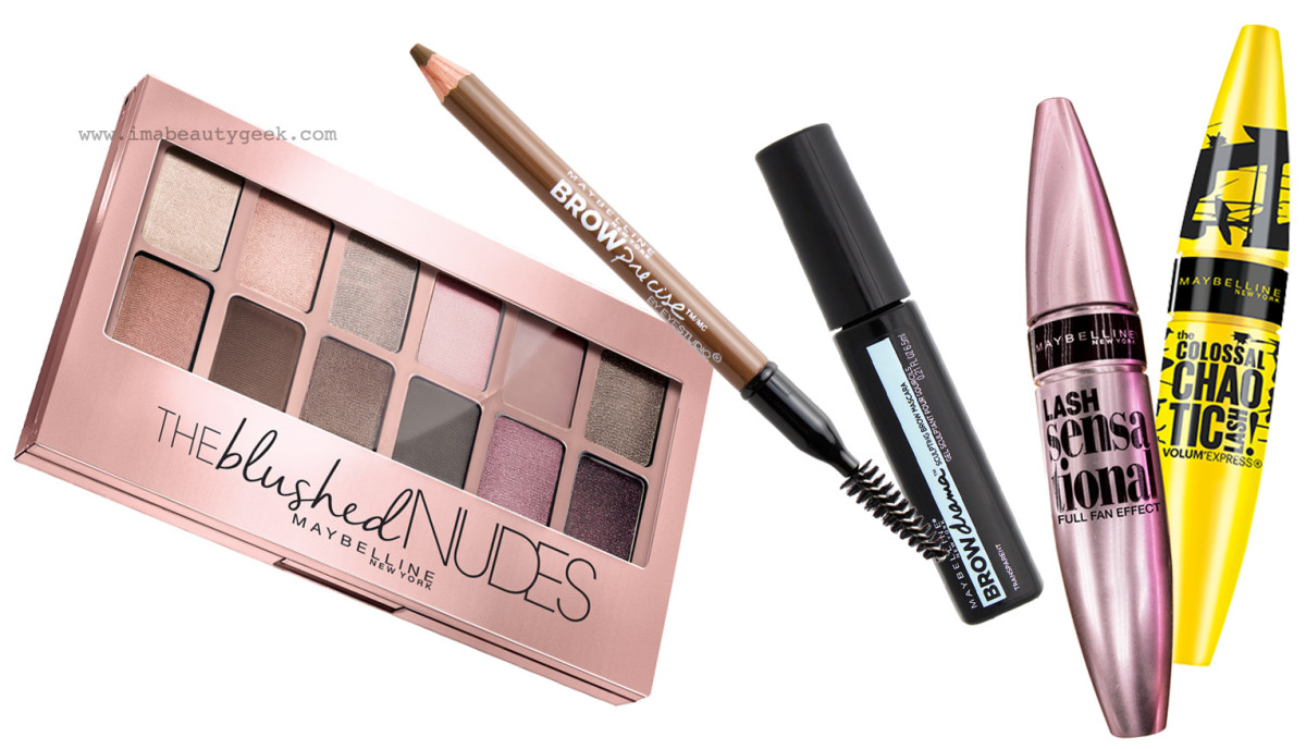 Gigi Hadid makeup_MMVAs eye makeup_Blushed Nudes_Lash Sensational mascara_Chaotic Lashes mascara