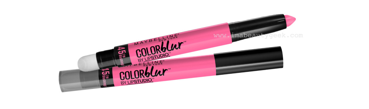 Gigi Hadid Makeup_MMVAs_Maybelline Color Blur Lip Pencil #45 I'm Blushing