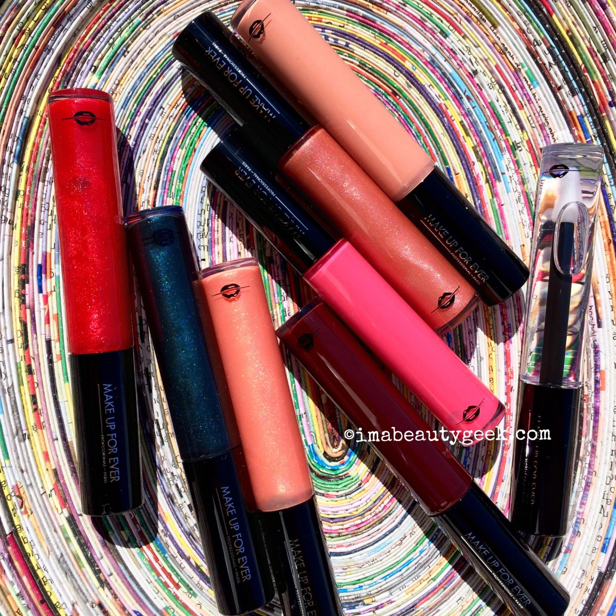 Summer lip gloss: Make Up For Ever Artist Plexi-Gloss comes in sheer and opaque finishes