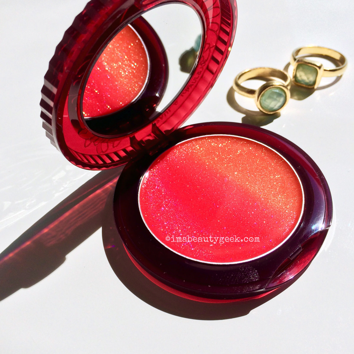 Summer lip gloss: Paul & Joe Midnight Sangria lip gloss M 03Sanguinello