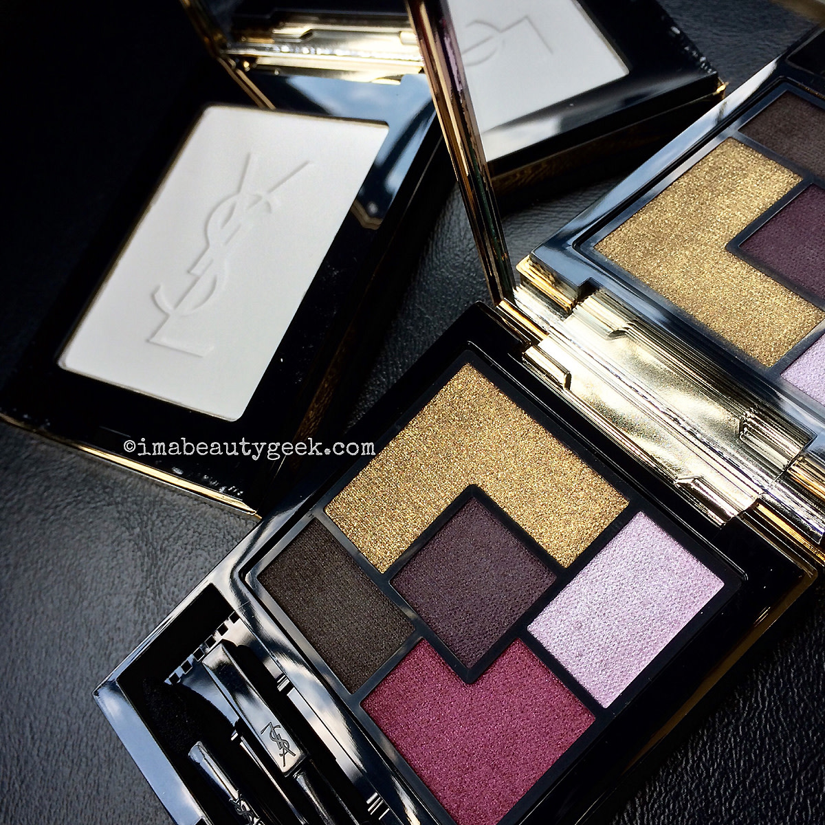 YSL Pretty Metal Fall 2015_Matte Radiance Powder and Metal Clash Eyeshadow Palette