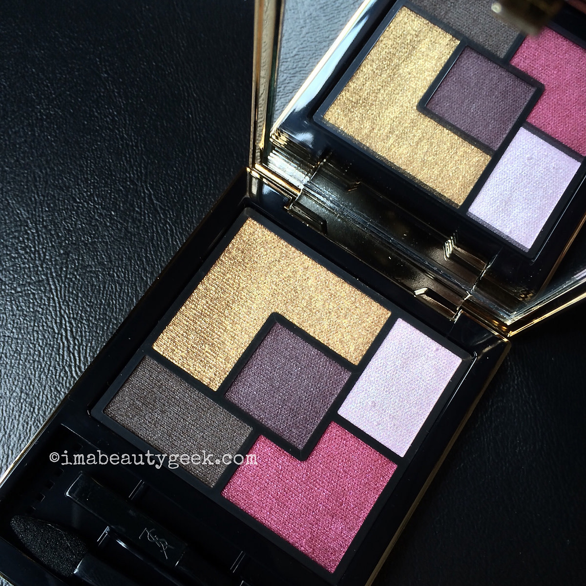 YSL Pretty Metal Fall 2015_Metal Clash couture palette eyeshadows