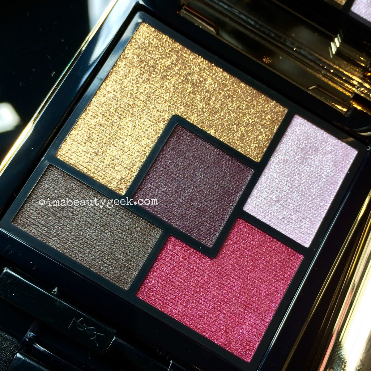 YSL Pretty Metal Fall 2015_Metal Clash palette eyeshadow