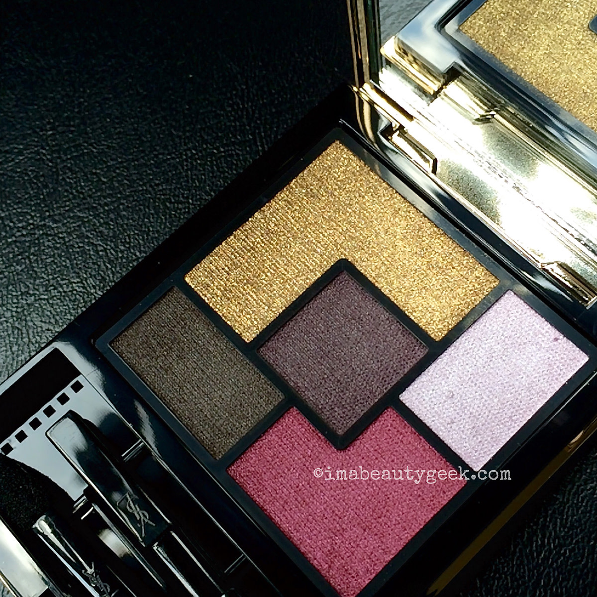 YSL Pretty Metal Fall 2015_Metal Clash eyeshadow palette open