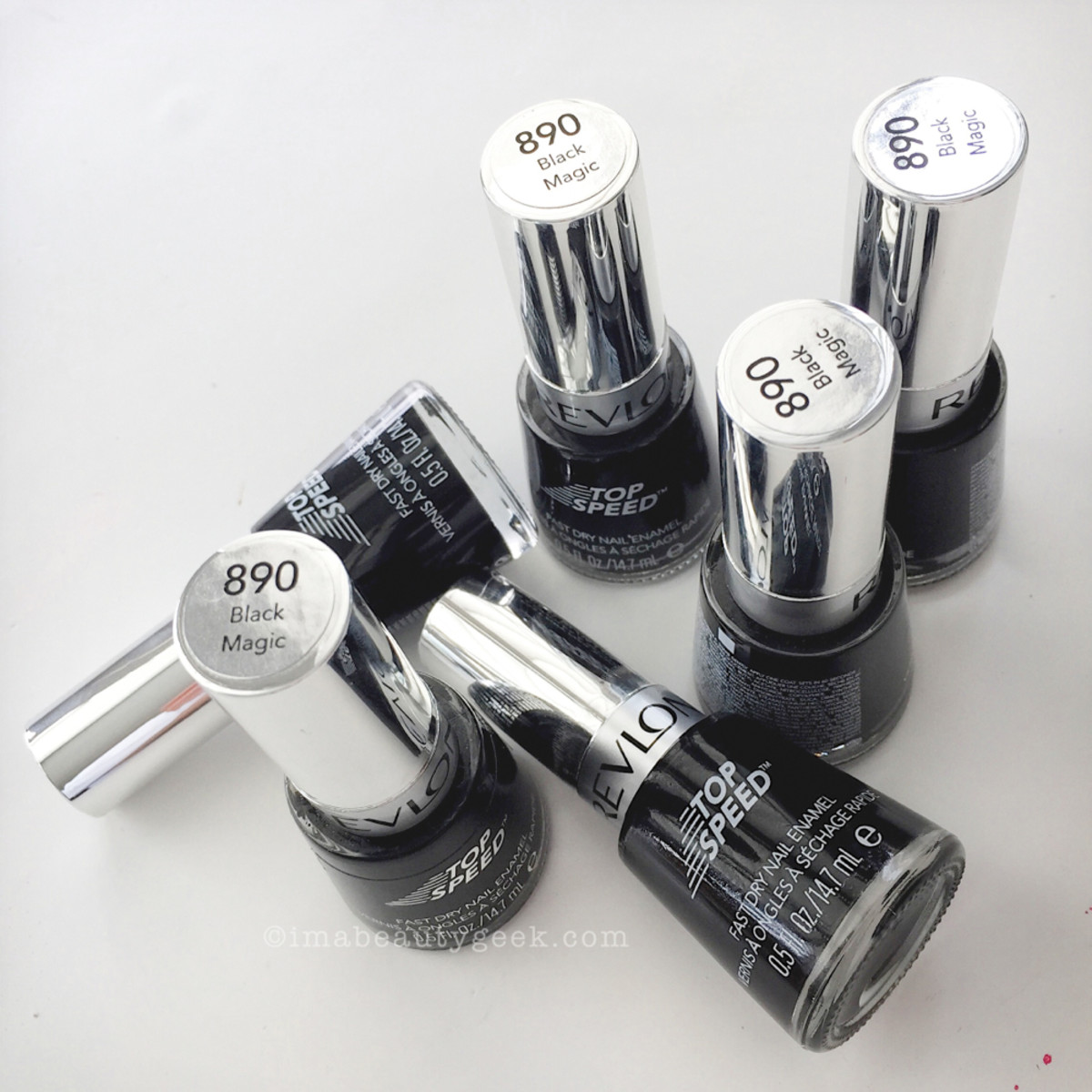 ManiGeek's Favorite Black Nail Polish