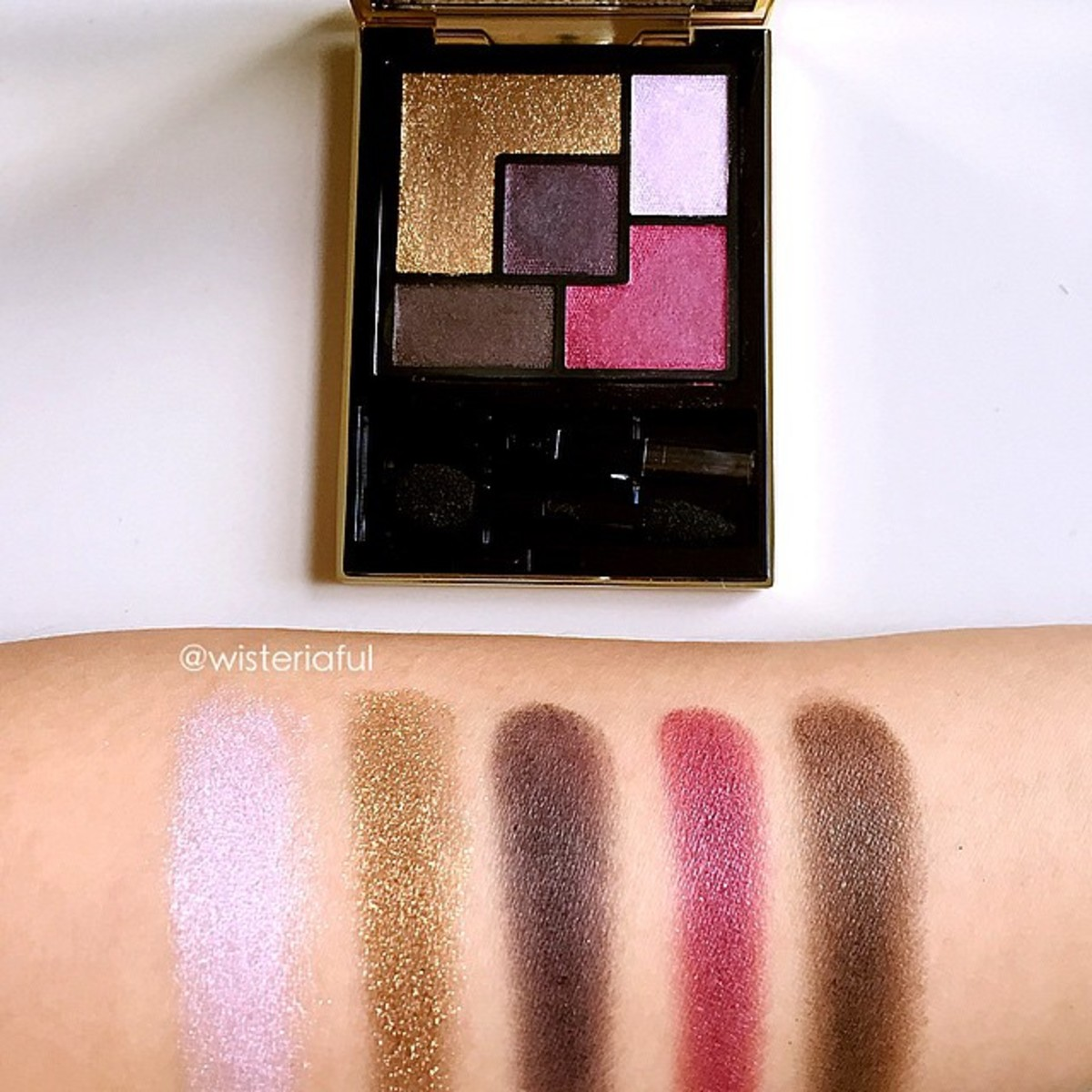 YSL Metal Clash palette_Pretty Metal Fall 2015 collection_@wisteriaful on Instagram