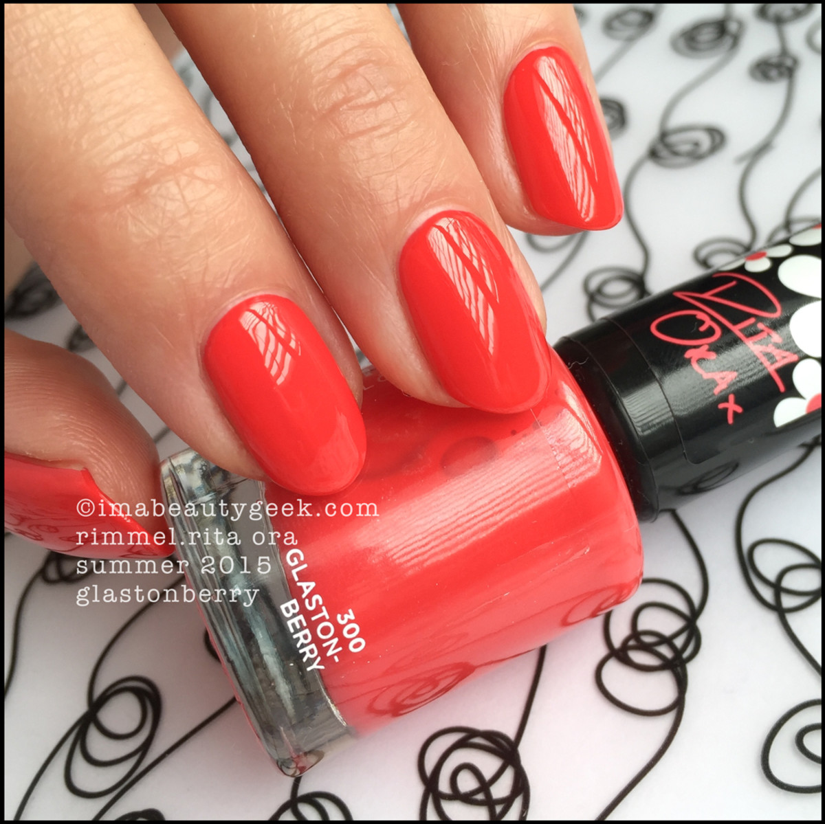 Rimmel Rita Ora Nail Polish Glastonberry Swatch