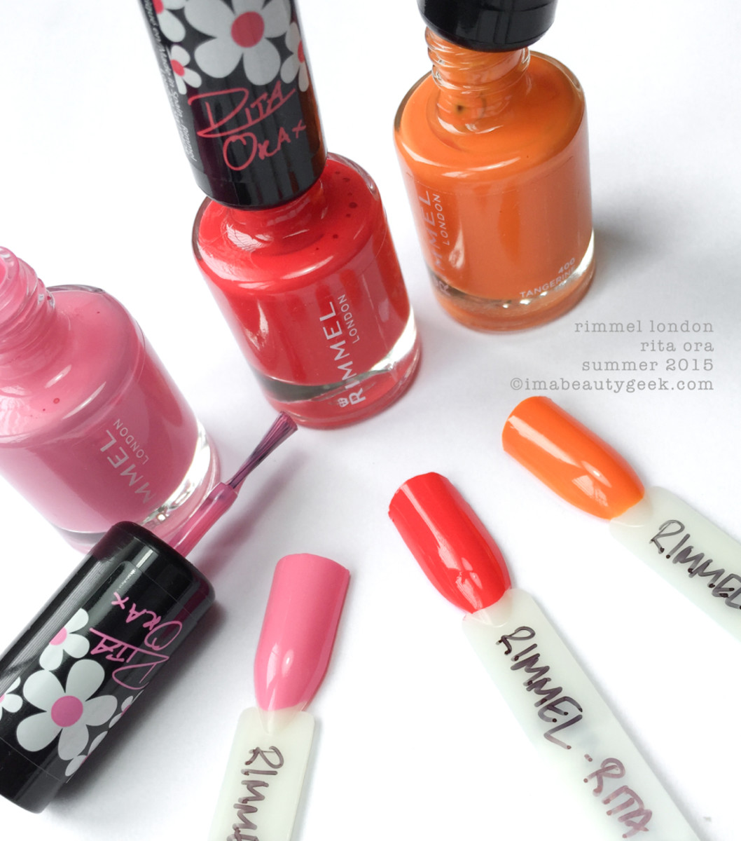Rimmel Rita Ora Polish Summer 2015 - Beautygeeks