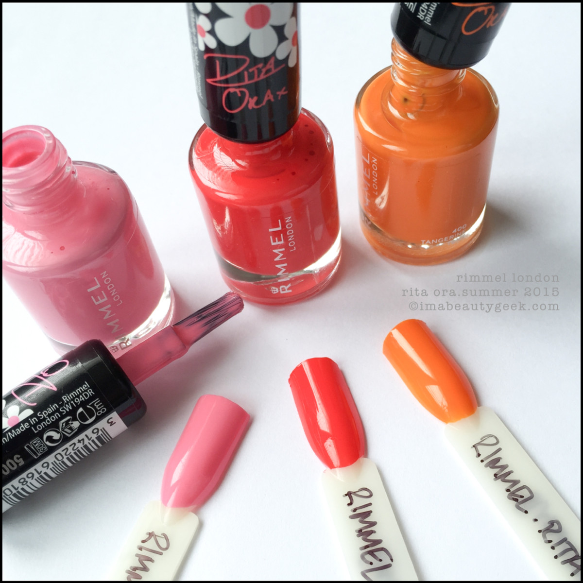 Rimmel Rita Ora Summer 2015 Collection Swatches