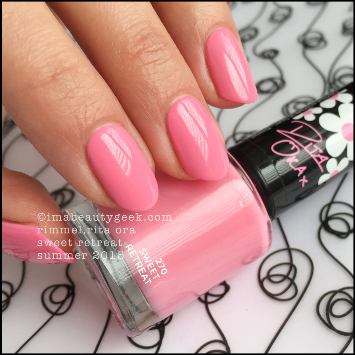 Rimmel Rita Ora Sweet Retreat Nail Polish Swatch