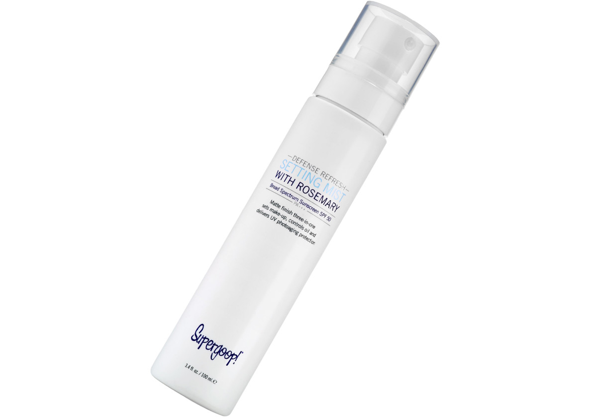 sunscreen water_Supergoop Defense Refreshing Mist SPF 50