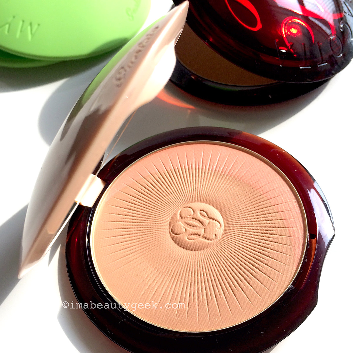 Guerlain My Terracotta_silicone sleeve green
