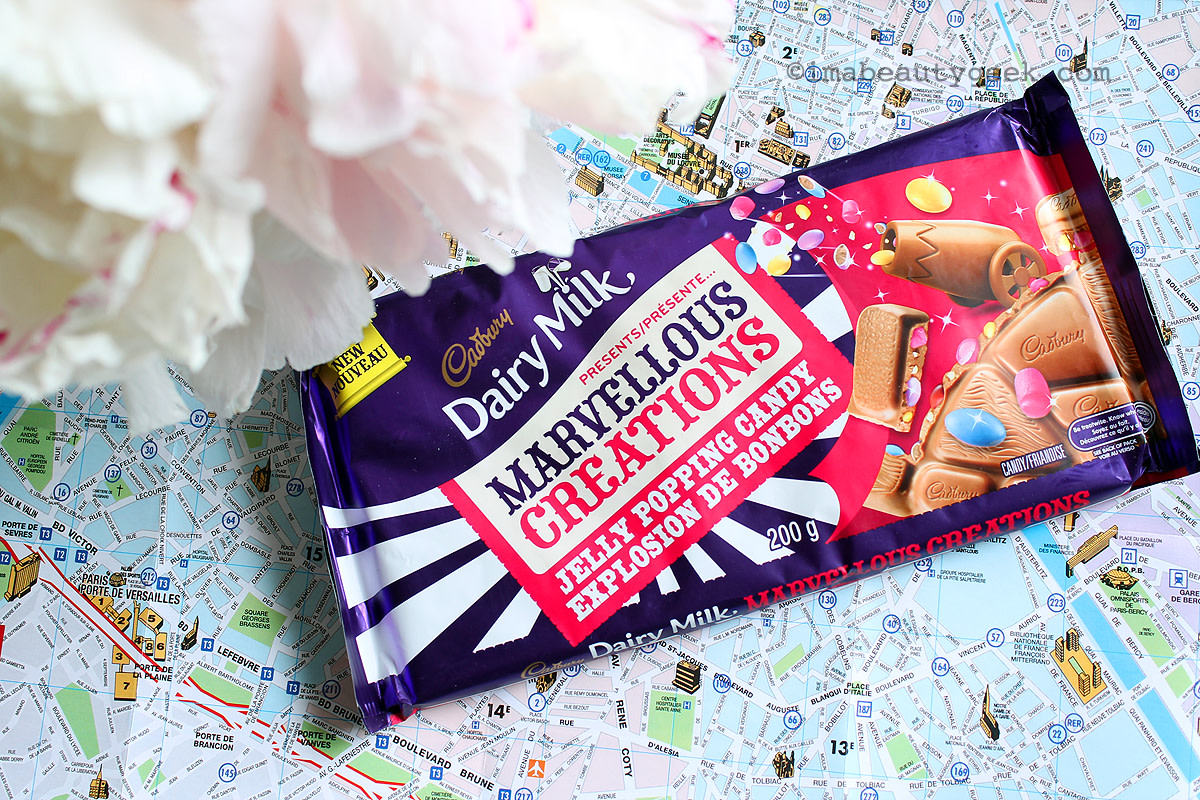 Cadbury Marvellous Creations chocolate bar_how to prep for a perfect summer road trip