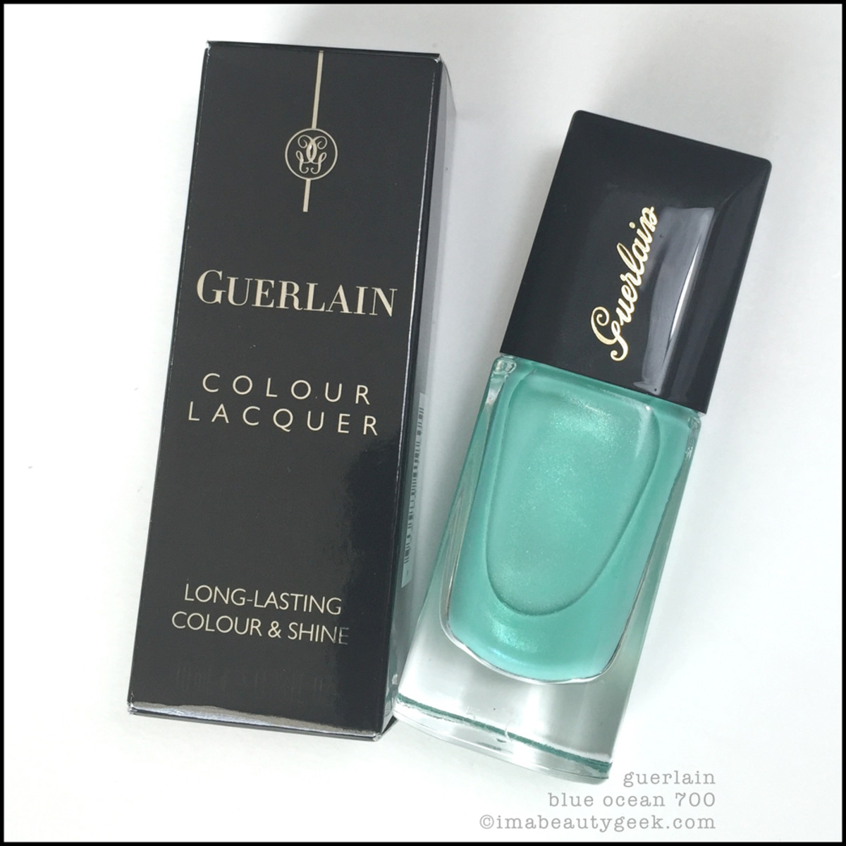 Guerlain Blue Ocean Nail Polish 700 Summer 2015