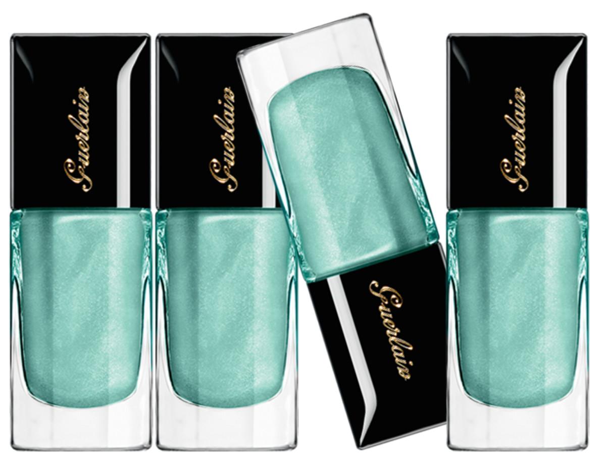 Guerlain Blue Ocean Nail Lacquer 700 Summer 2015 Beautygeeks
