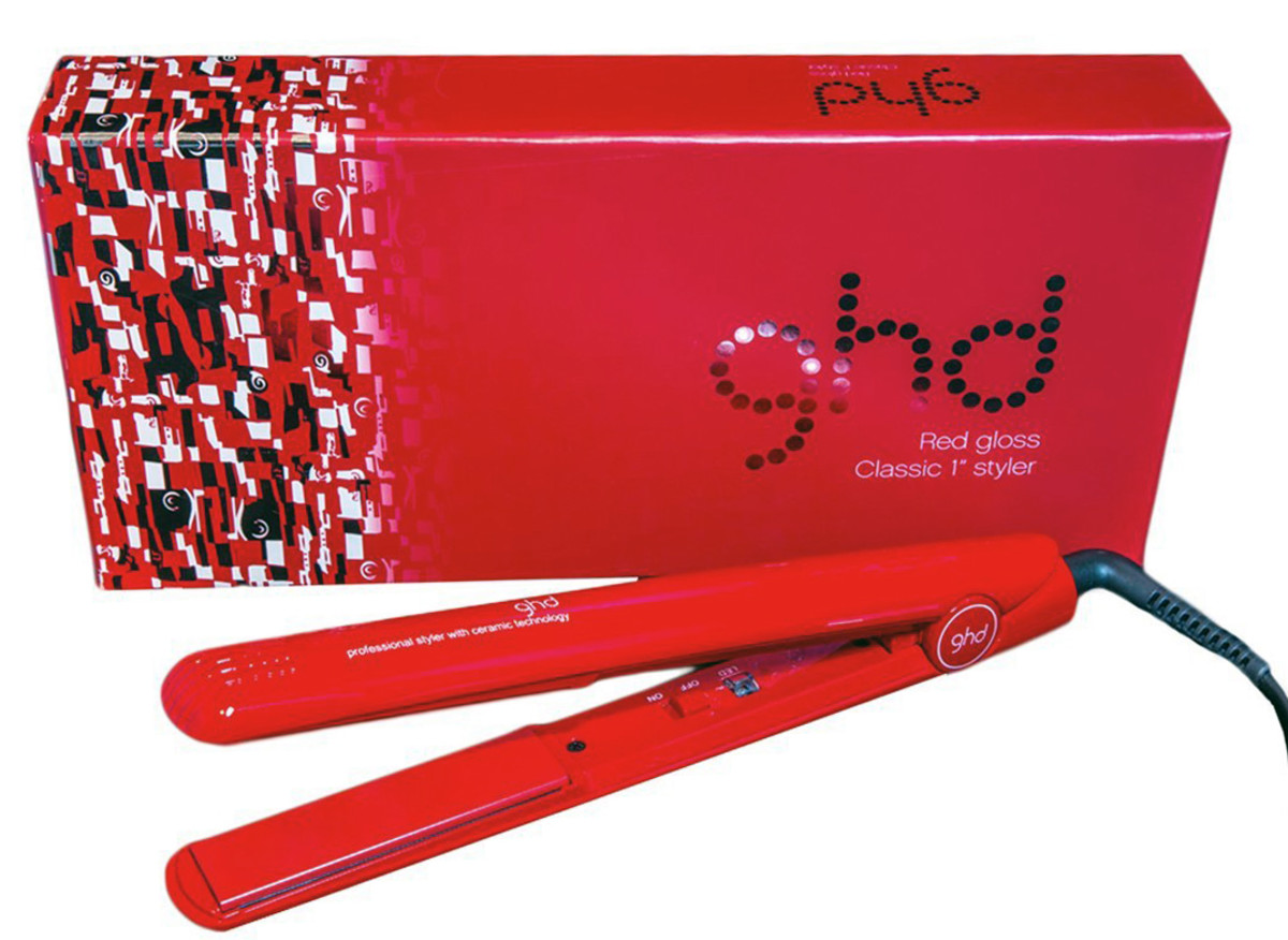 "Amazon Prime Day: ghd Red Gloss Classic 1"" Styler"
