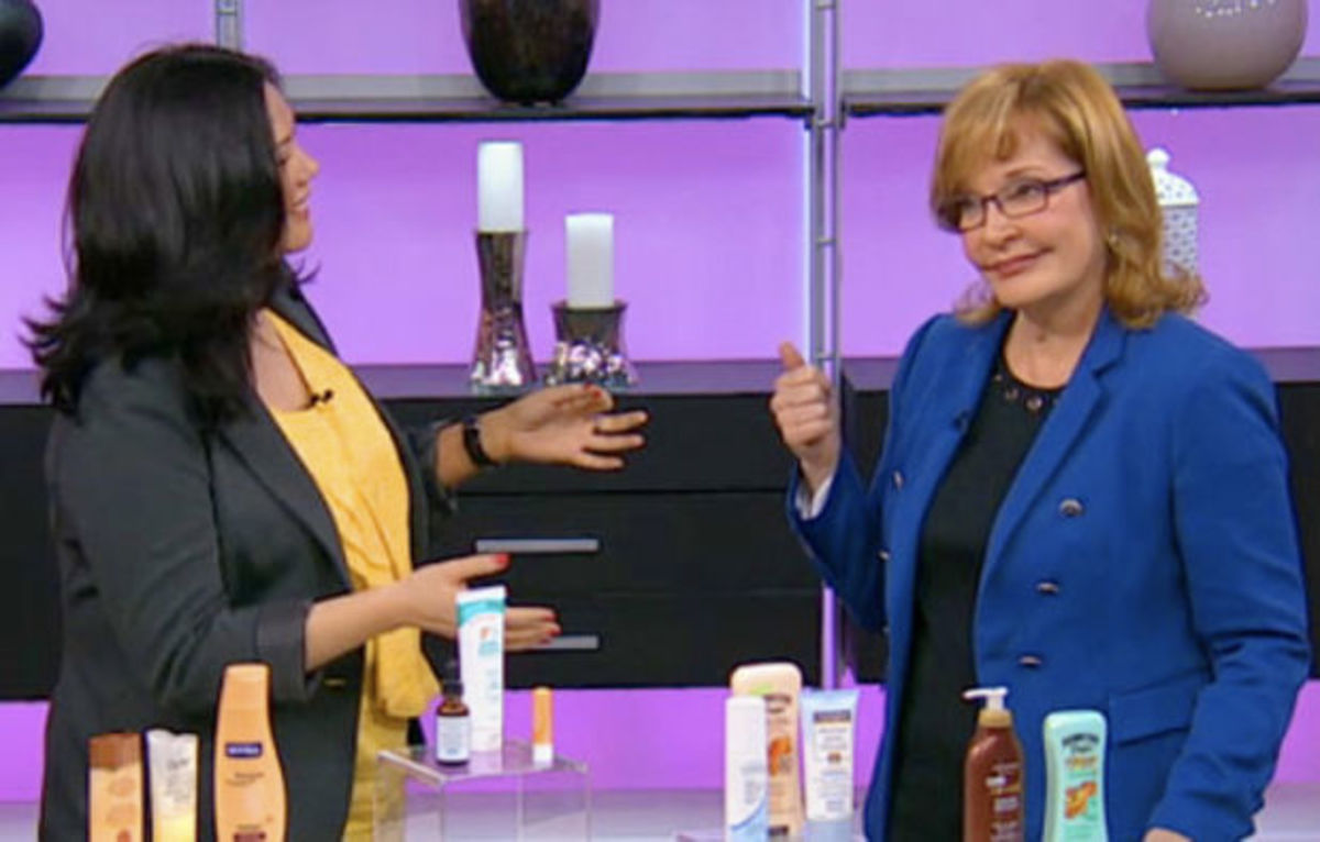 Vacation-skin prep on Marilyn Denis