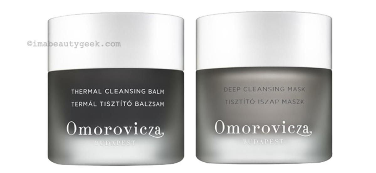 Omorovicza Thermal Cleansing Balm and Deep Cleansing Mask_nordstrom beauty exclusives