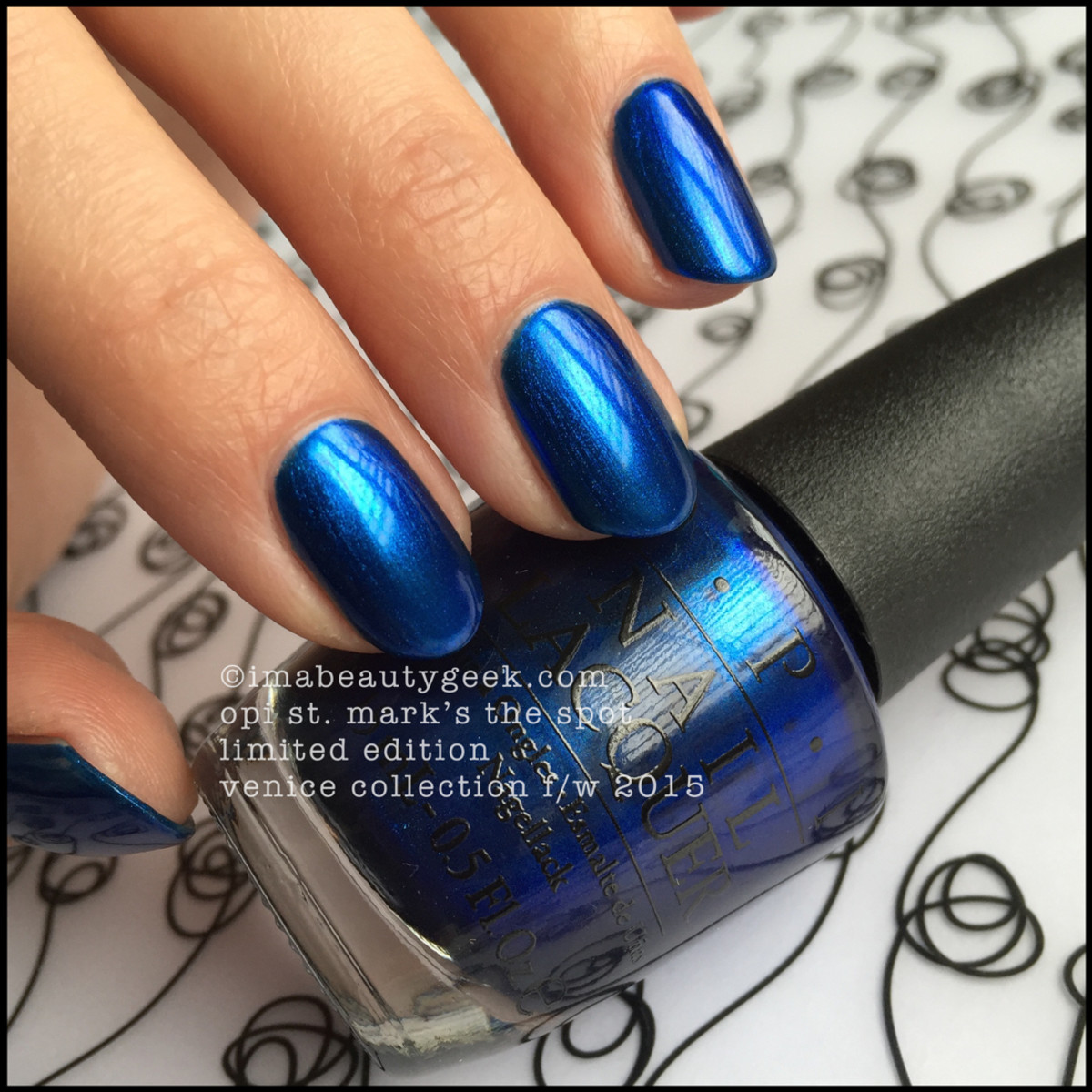 OPI Venice Swatches OPI St Marks the Spot Beautygeeks
