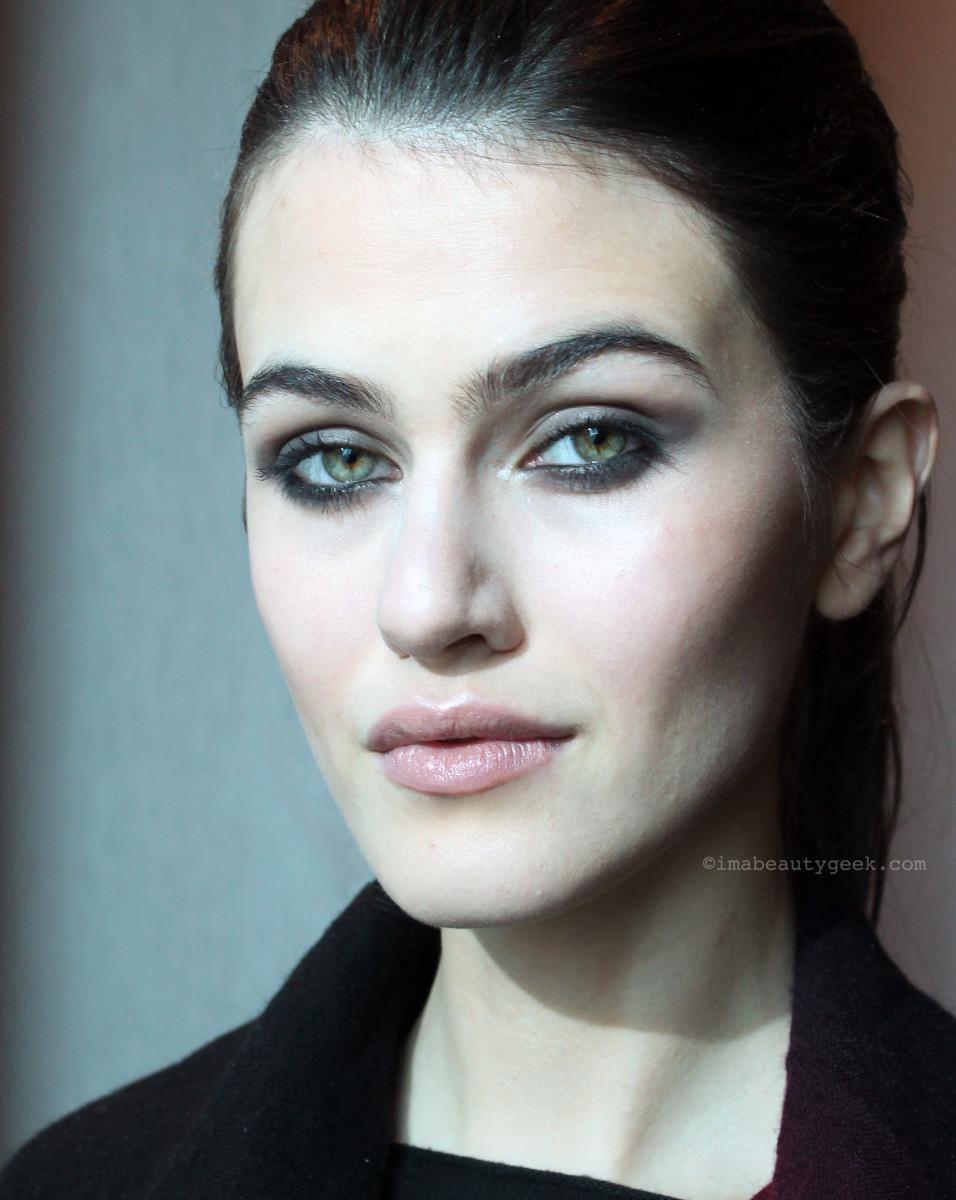 Brow envy: model Kasia Szymanska/Elmer Olsen Models.