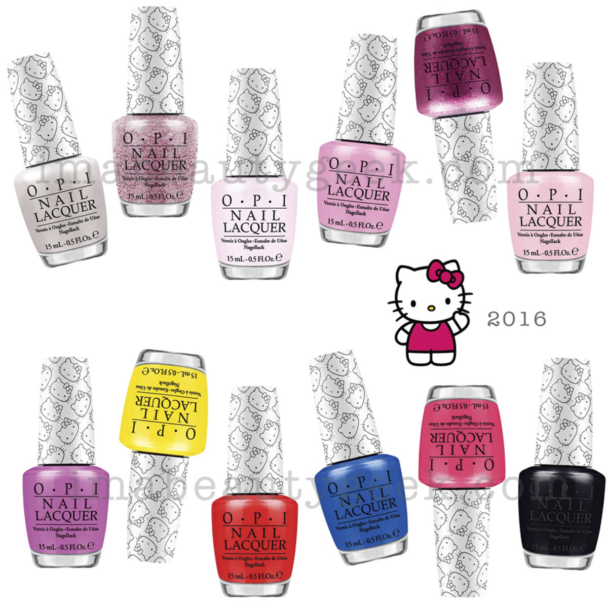 OPI Hello Kitty Collection 2016_2