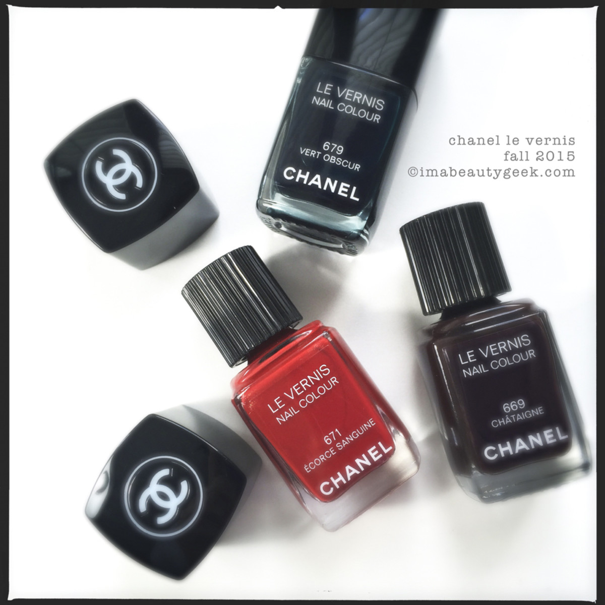 Chanel Fall 2015 Ecorce Sanguine Vert Obscur Chataigne