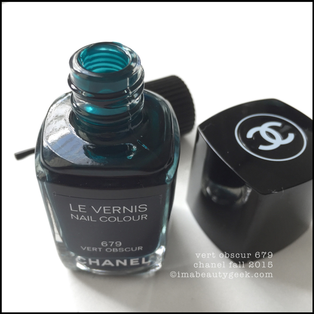 Chanel Vert Obscur Vernis Nail Polish Chanel Fall 2015