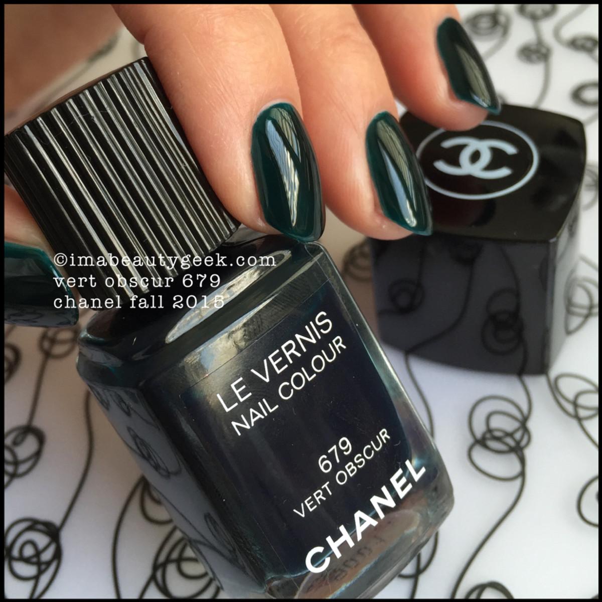 Chanel Vert Obscur 679_ Chanel Fall 2015 Beautygeeks