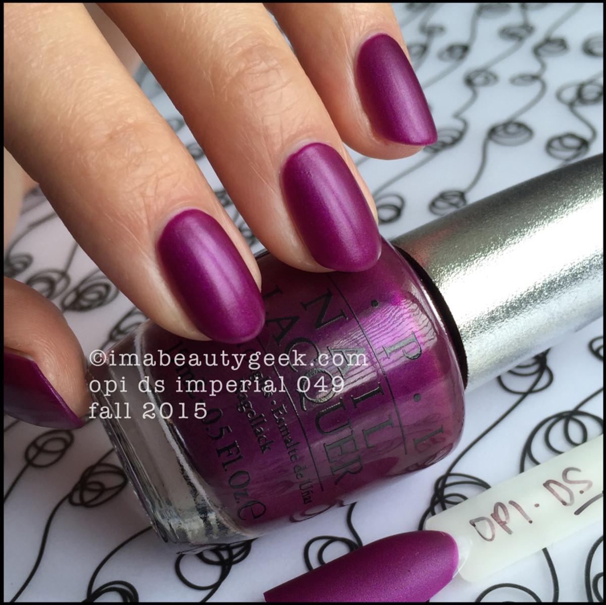 OPI DS Imperial 049_OPI DS 2015 low light