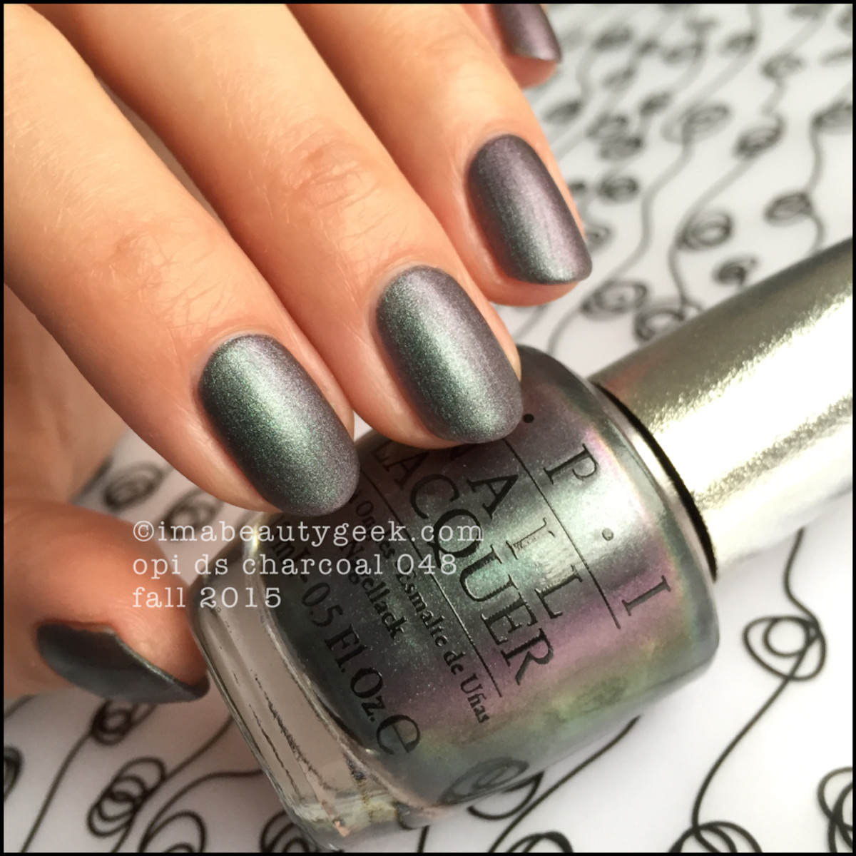 OPI Designer Series 2015 Charcoal DS