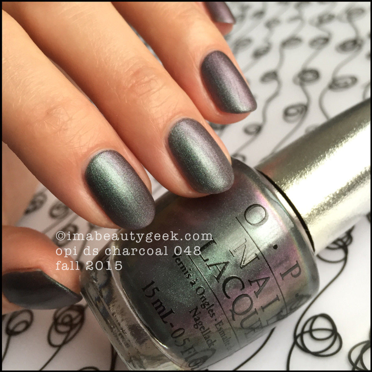 OPI DS Charcoal 048 OPI DS 2015_1