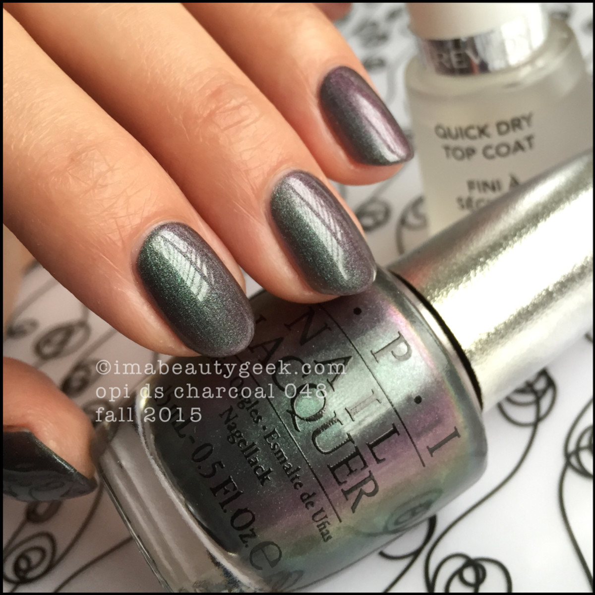 OPI DS 2015 OPI DS Charcoal with top coat_1