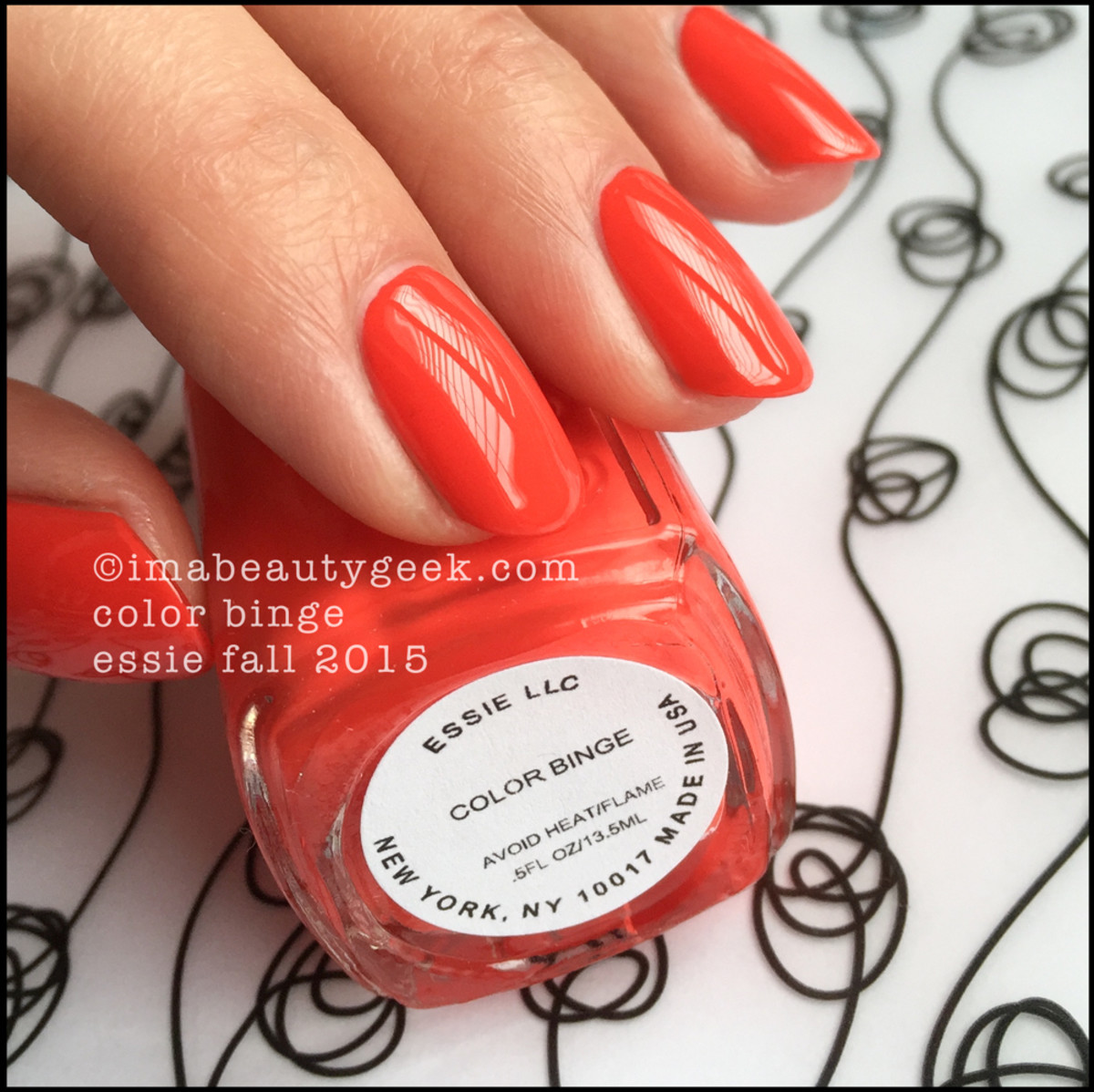Essie Color Binge_ Essie Fall 2015 Swatches Review