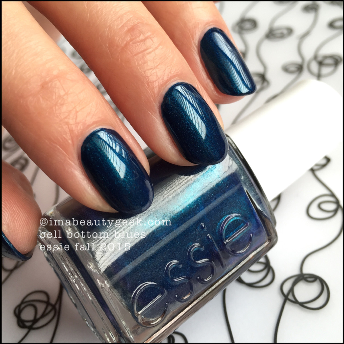 essie bell bottom blues review