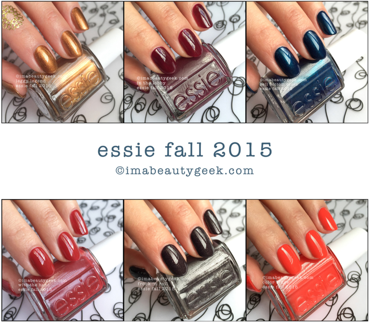 Essie Fall 2015 Swatches Review Comparisons Manigeek