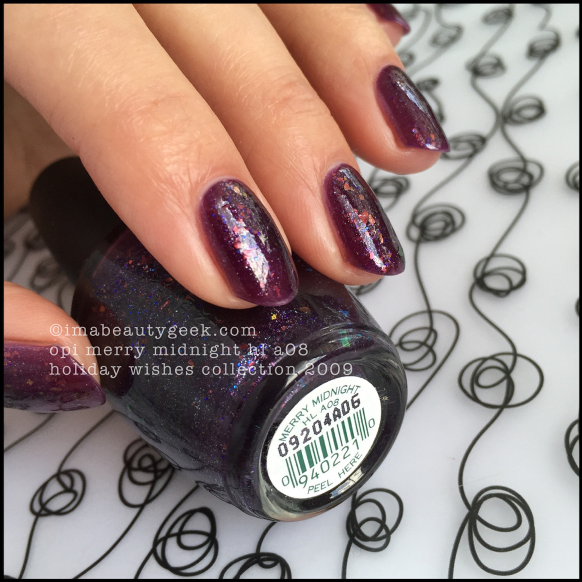 OPI Merry Midnight Holiday Wishes Collection 2009