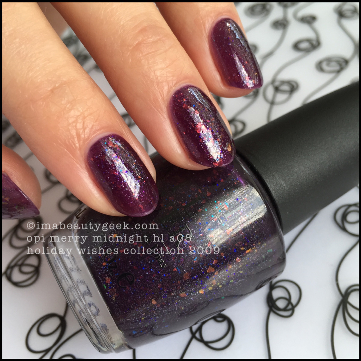 OPI Merry Midnight 2009 Holiday Wishes Collection
