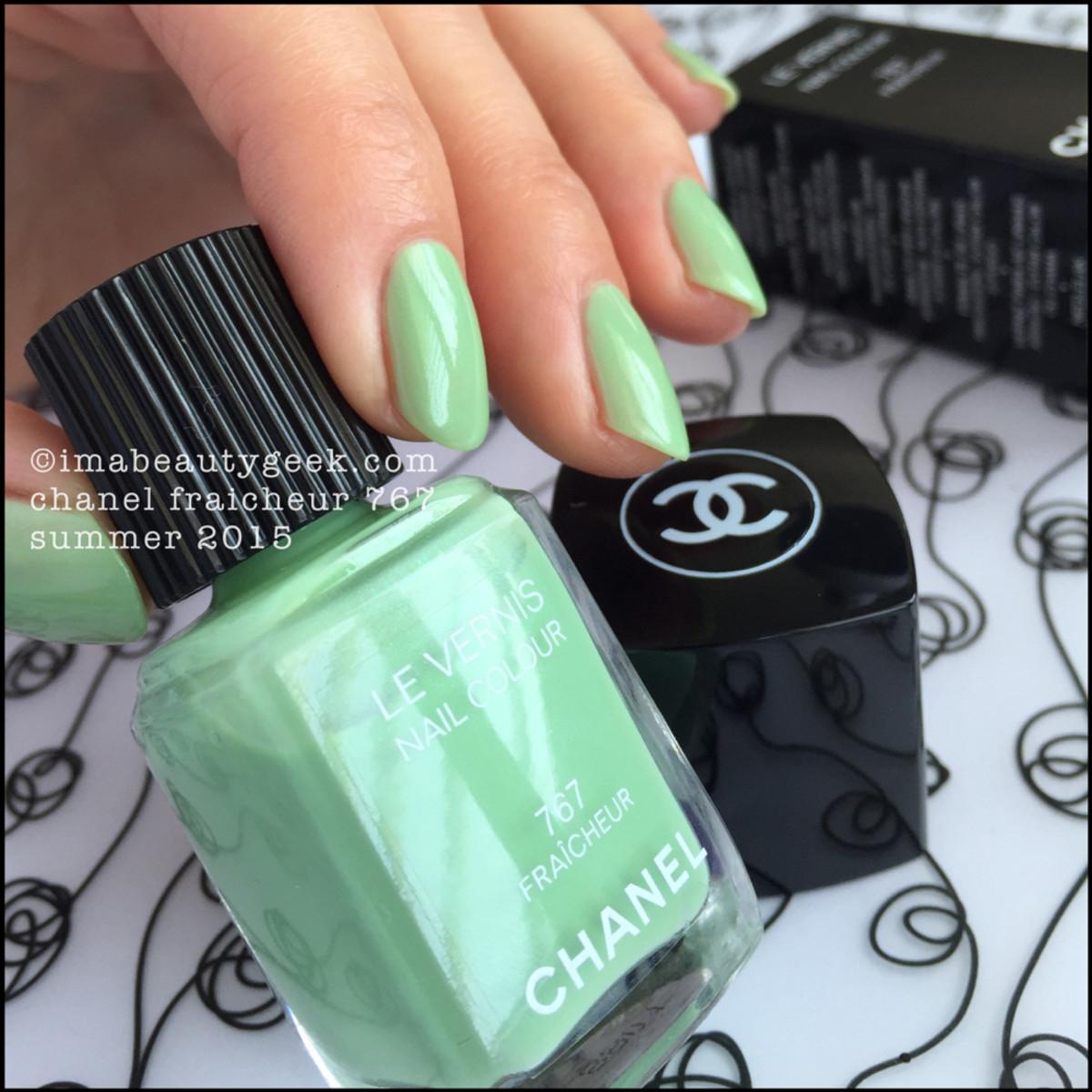 Chanel Fraicheur Le Vernis Nail Polish Swatch Beautygeeks