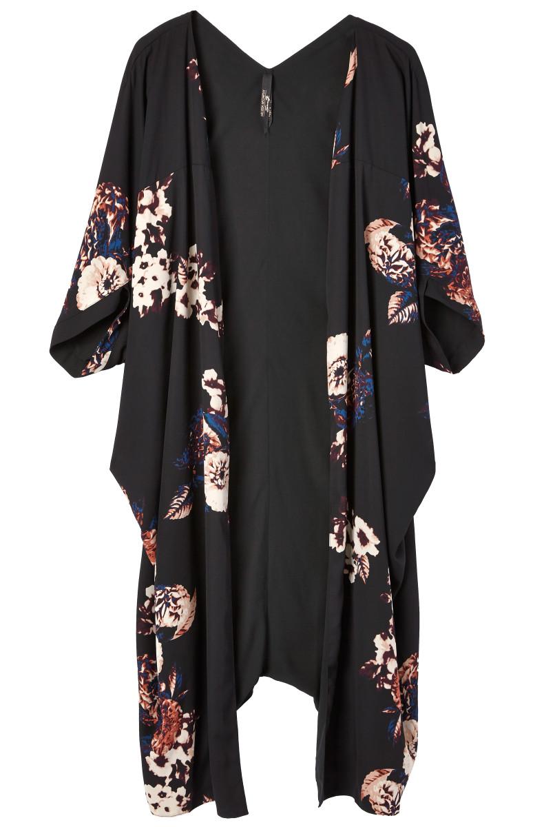 Melissa McCarthy Seven7 reversible kimono