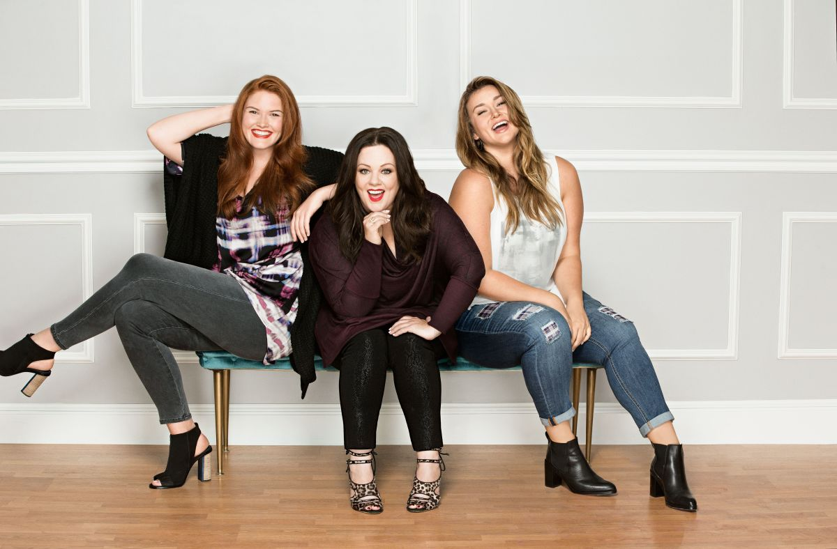 Melissa McCarthy Seven7 group shot