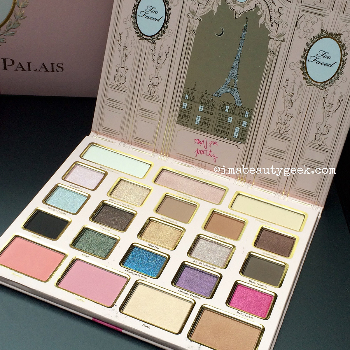 Too Faced Holiday 2015_Le Grand Palais palette