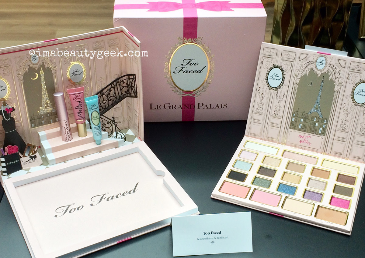 Too Faced Le Grand Palais holiday 2015 gift set