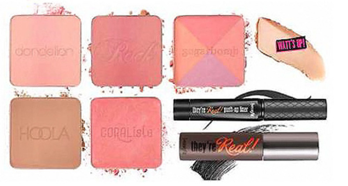 Benefit holiday 2015_Real Cheeky Party Kit contents