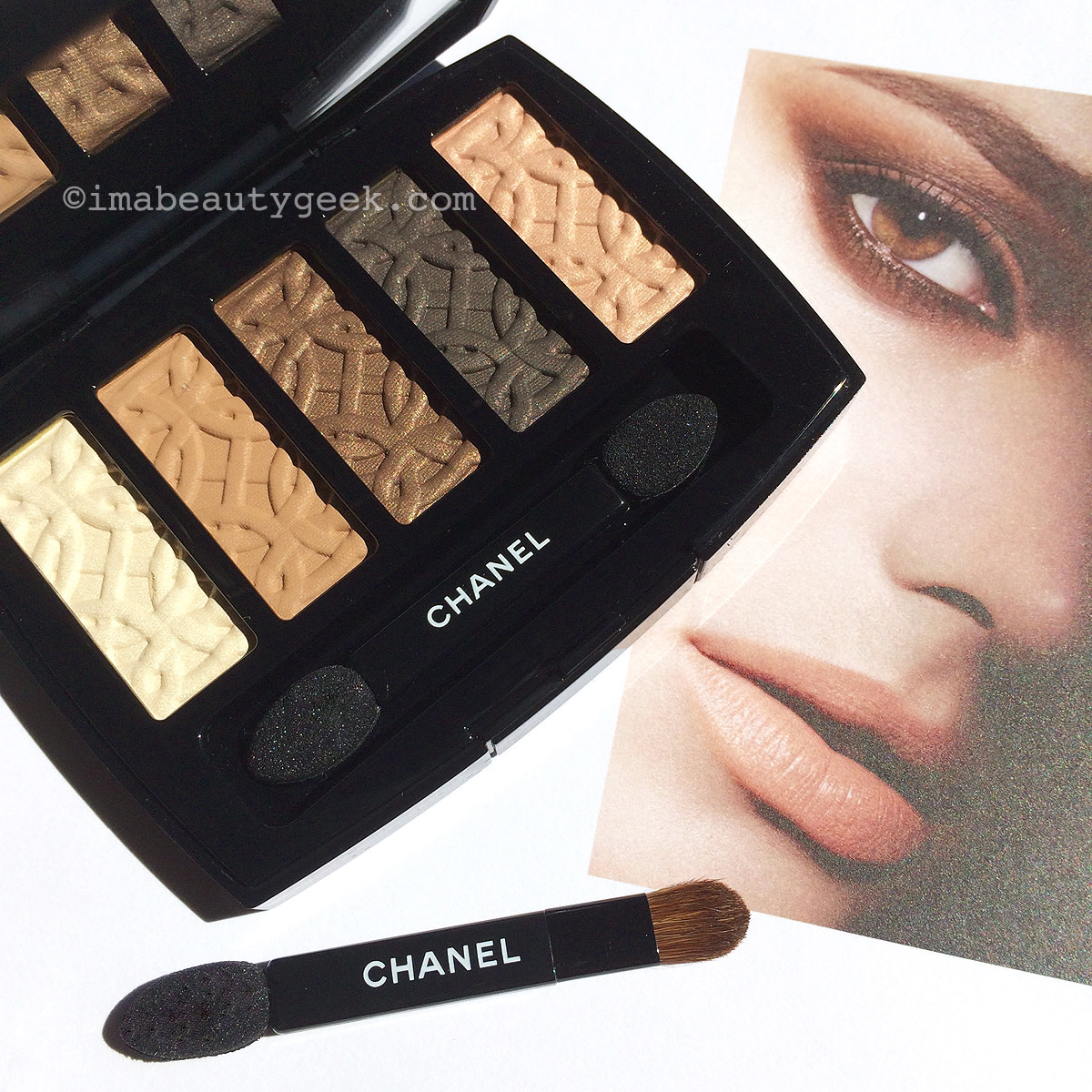 Chanel Fall 2015 Makeup Les Automnales Collection_Entrelacs eyeshadow palette
