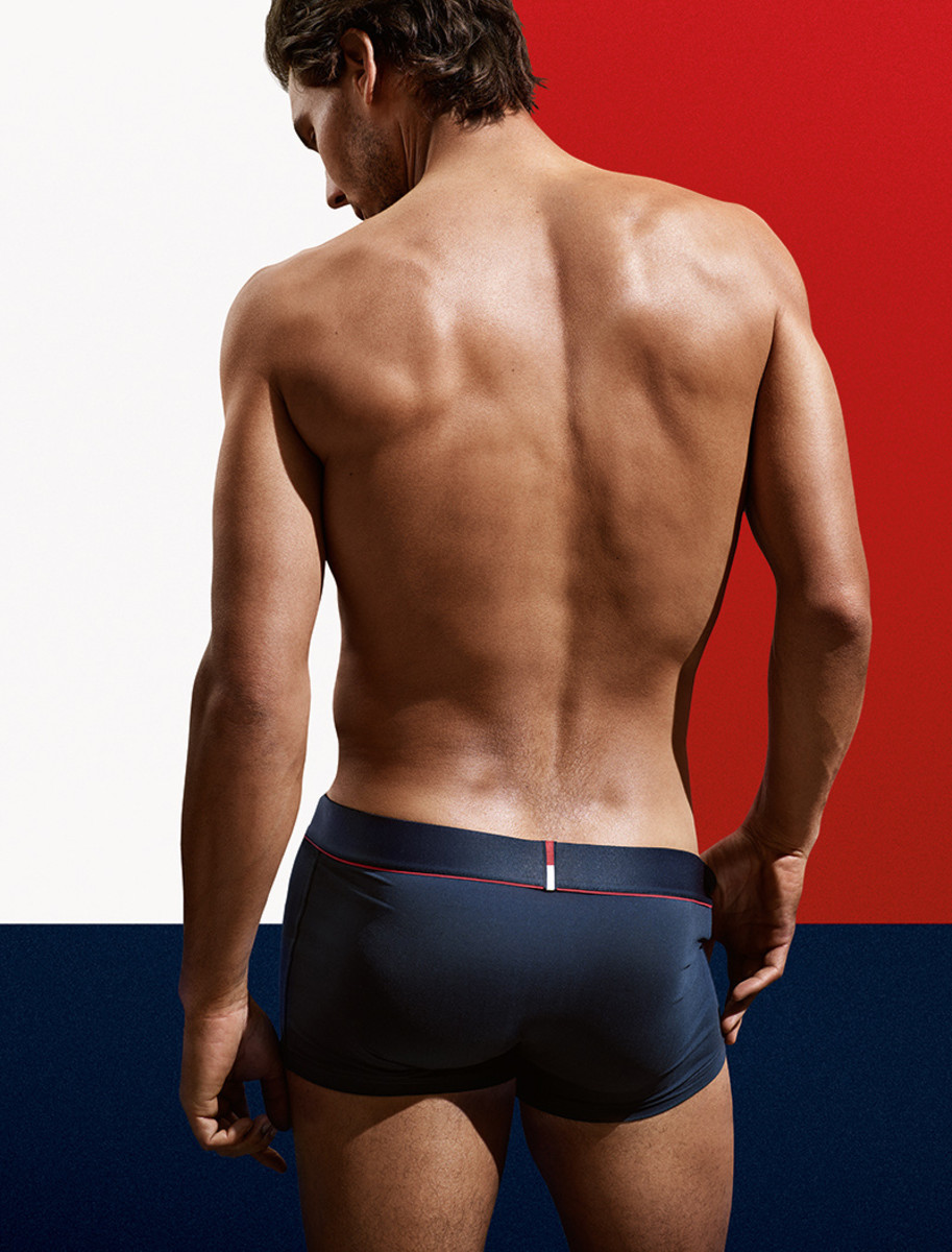Rafael Nada for Tommy Hilfiger: well played, Rafa, well played.