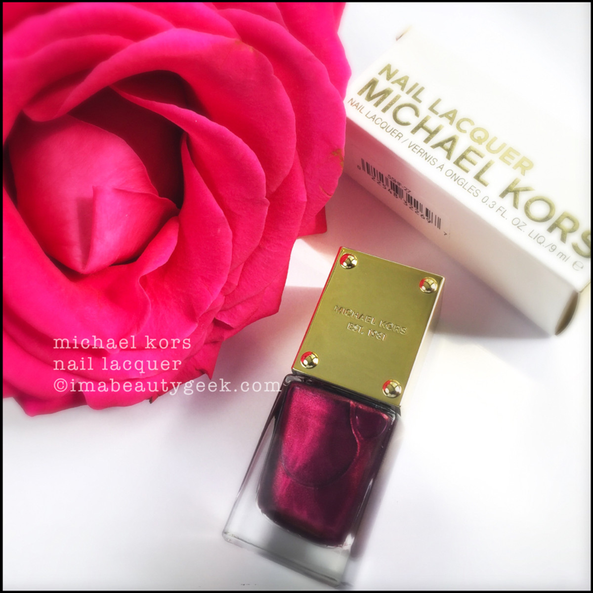 Michael Kors Nail Polish Swatches Beautygeeks