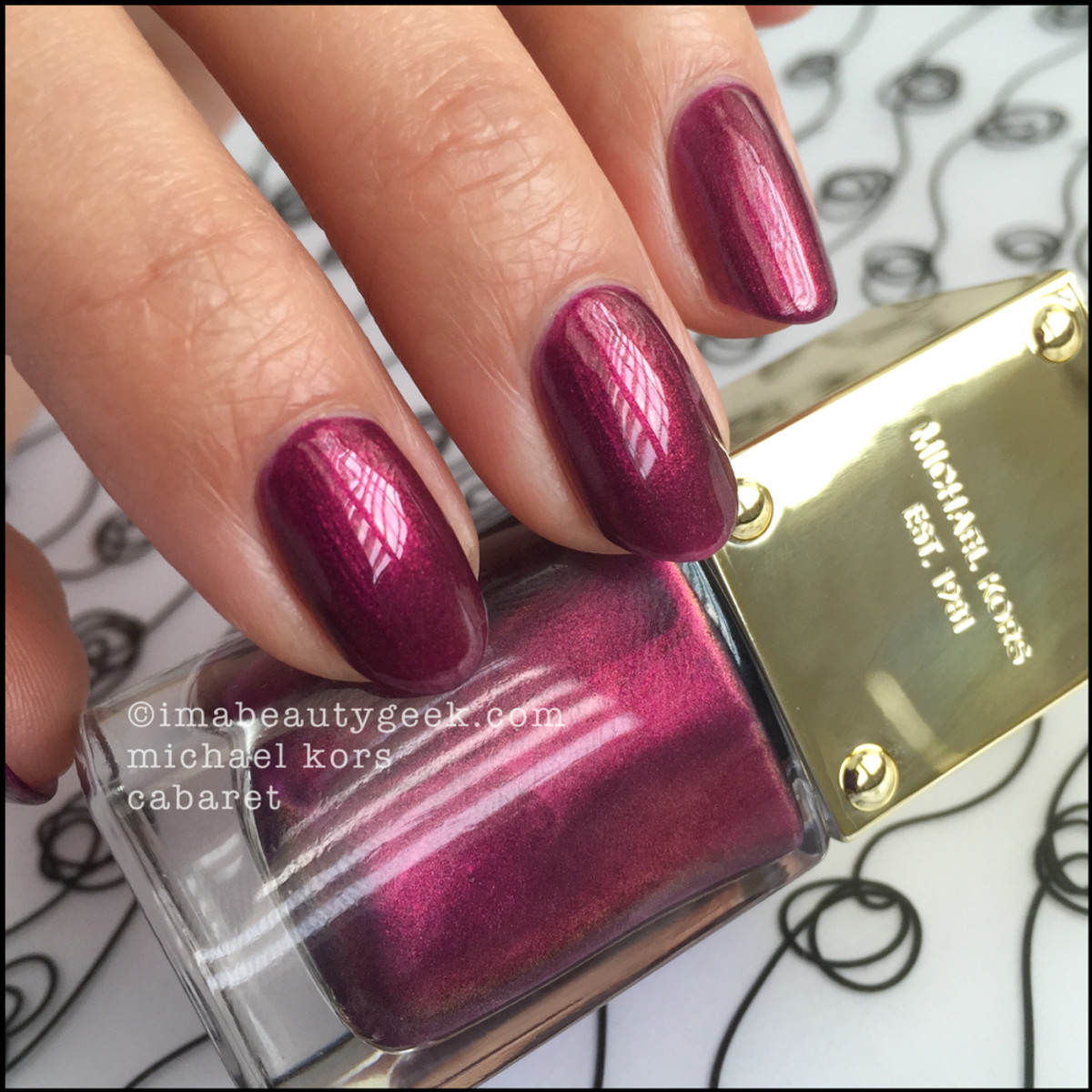 Michael Kors Cabaret Nail Polish Swatch Beautygeeks