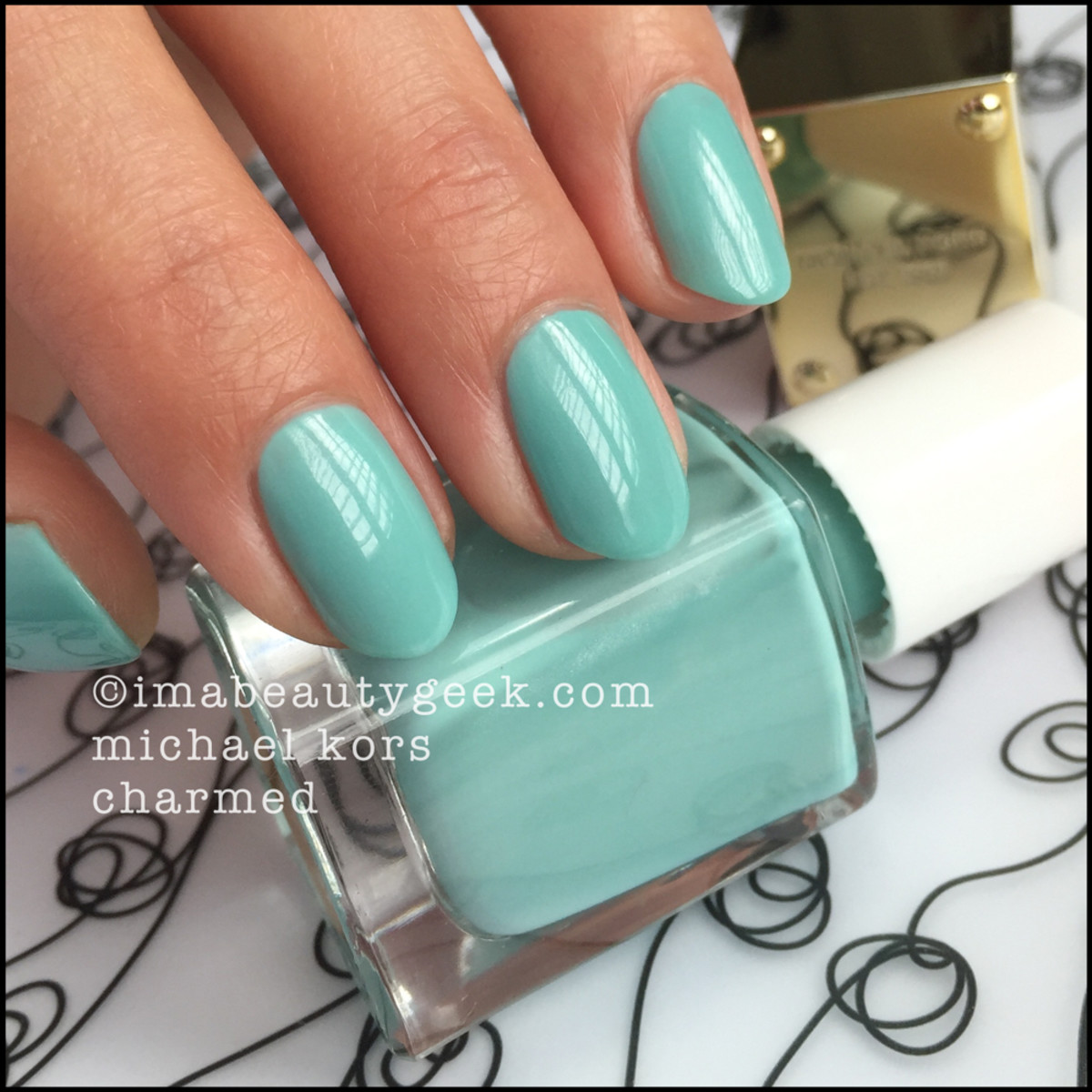Michael Kors Nail Polish Charmed Swatch Beautygeeks